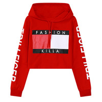 """Fashion Killa"" Pull Over Hoody"