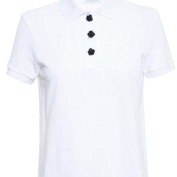 Polo T-Shirt with Knot Buttons - J.W.ANDERSON