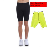 Hot Sweating Shapers Mens Bodysuit Underwear Shapewear Slimming Shorts Pants Bodybuilding Male Body Shapers