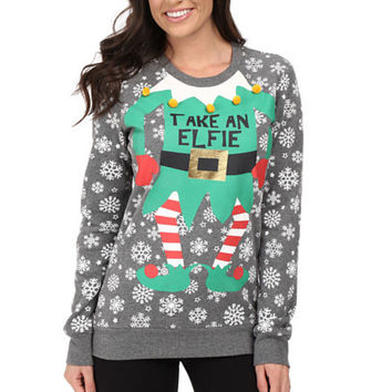 Ugly Christmas Sweater Print Christmas Hoodies [9503683588]