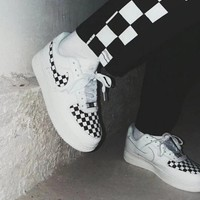 DCCKHNW Nike'Authentic CHECKBOARD' Air Force shoes