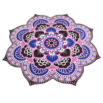 Mandala Towel Yoga Mat Bohemian Beach Pool Home Table Cloth Yoga Mat  Beach Pool Home 150cm