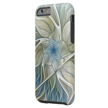 A Floral Dream Pattern Abstract Fractal Art Tough iPhone 6 Case