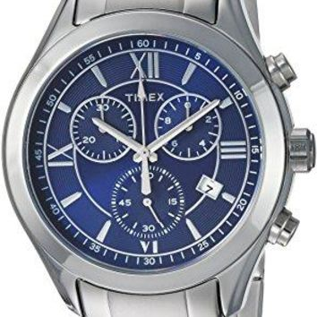 Timex Men's Miami Chronograph Stainless Steel Bracelet Watch