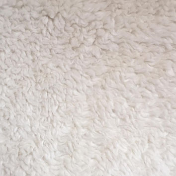 Luxury Faux Fur-Sherpa Ivory Fur Fabric | JOANN