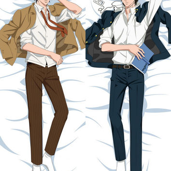 New  Male The Prince of Tennis Anime Dakimakura Japanese Pillow Cover MALE38