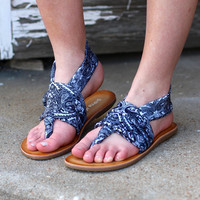 Rococo Beebop Sandal by DIRTY LAUNDRY {Black+White}