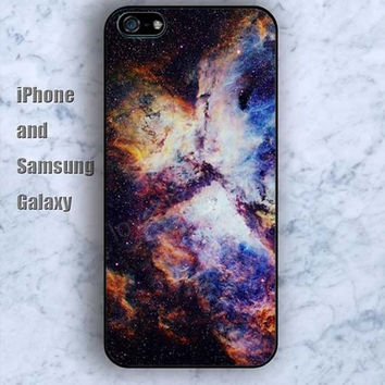 dream Space Nebula universe iPhone 5/5S Ipod touch Silicone Rubber Case Phone cover Waterproof