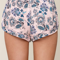 Me To We Crochet Inset Jogger Shorts at PacSun.com
