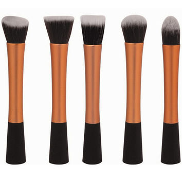 Gold Metallic 5-piece Select Brush Kit