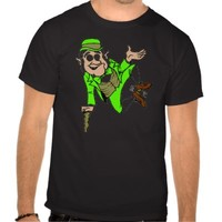 ST. PATRICK'S DAY TEE SHIRT LEPRECHAN