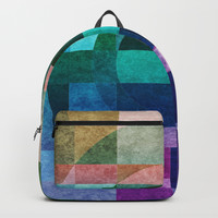 Composition7 textured Backpack by edrawings38