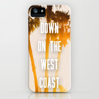 WEST COAST iPhone & iPod Case by Jack Stobart