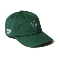 Green Cactus Embroidered Adjustable Cotton Baseball Cap Hat