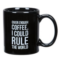 Given Enough Coffee Mug