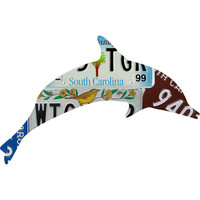 South Carolina License Plate Dolphin