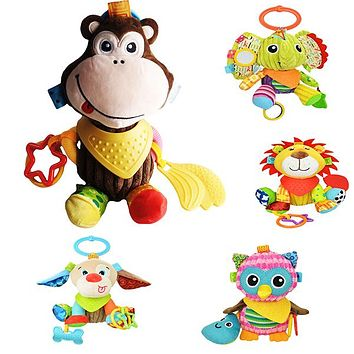 Sozzy Plush Baby Animals Multi Sensory Activity Toy for Babies and Toddlers