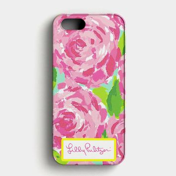 Lilly Pulitzer First Impression Rose Inspired iPhone SE Case
