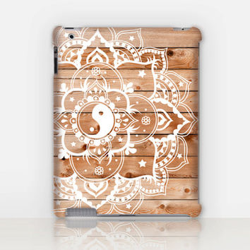 Mandala iPad Case For - iPad 2, iPad 3, iPad 4 and iPad Mini, Fine Art Hard Case