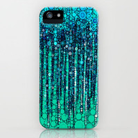 :: Blue Ocean Floor :: iPhone Case by GaleStorm Artworks | Society6