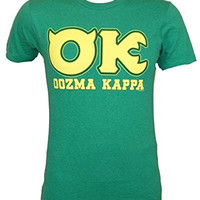 Disney Monsters University OK Oozma Kappa Member Green T-shirt