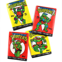 Teenage Mutant Ninja Turtles Trading Cards Bundle (Vintage)