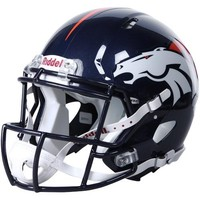 Riddell Denver Broncos Revolution Speed Full-Size Authentic Football Helmet