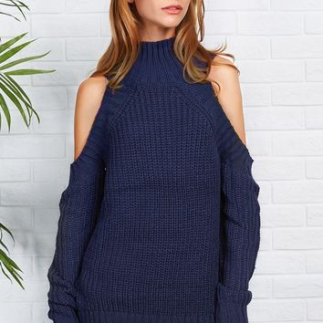 Cupshe Fold Me Tight Off the Shoulder Sweater