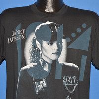 90s Janet Jackson Rhythm Nation Tour t-shirt Large
