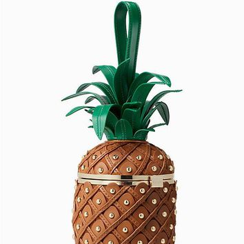 by the pool 3D pineapple