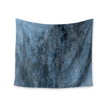 "CarolLynn Tice ""Familiar"" Dark Blue Wall Tapestry"