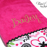 Personalized Bath Towel Child or Adult