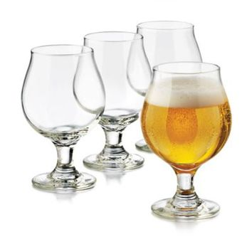 Libbey® Glass 4-Piece Perfect Hard Cider McIntosh Glasses
