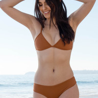 Stone Fox Swim - Cora Top | Bronzed