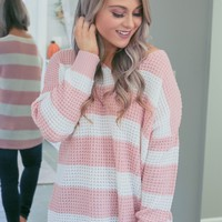 She's Got A Way With Sweaters - Pink