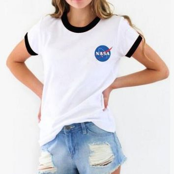 NASA Printed T-Shirt
