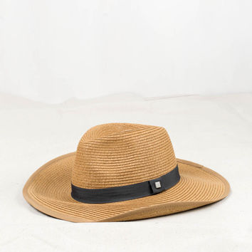 Yellow 108 Horizon Straw Hat
