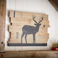 Buck Planked Wood