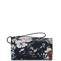 Uptown Floral Printed Out & About Organizer Wallet