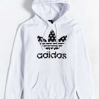 adidas Star Filled Pullover Hoodie - Urban Outfitters