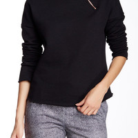 On HauteLook: Lime & Vine | Zoe Mock Neck Pullover
