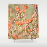 Desert Watercolor Shower Curtain by Lisa Argyropoulos