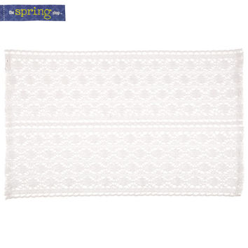 White Cotton Lace Placemat | Hobby Lobby