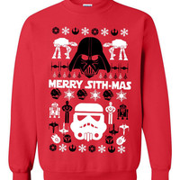 Star Wars Ugly Christmas Sweater sweatshirt Unisex Adults