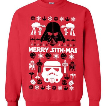 Star Wars Clone trooper Ugly Christmas Sweater sweatshirt unisex adults size S-2XL