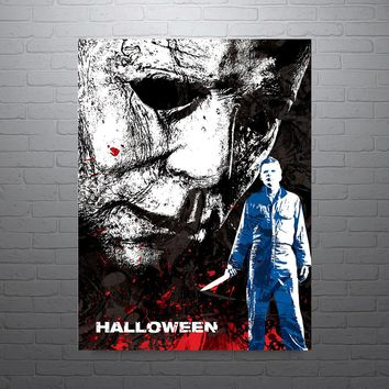 Halloween Mike Myers Movie Poster