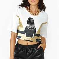 Pharoah Crop Sweatshirt