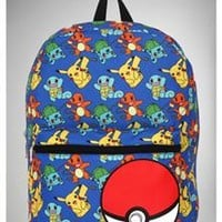 Pokemon Group Backpack