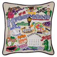 Richmond Hand Embroidered Pillow