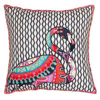 Zazu Flamingo Pillow | Decorative Pillows | Decorating Accessories | Dorm Essentials | Our Campus Market